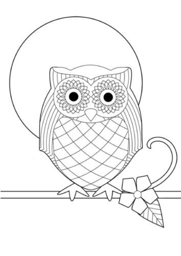 thumbnail of a-owl-pattern-a4