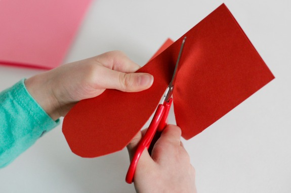 Cutting-Paper-Hearts