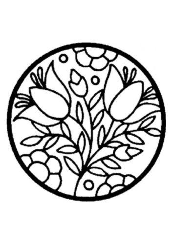 thumbnail of the-circle-with-flowers-pattern-a4