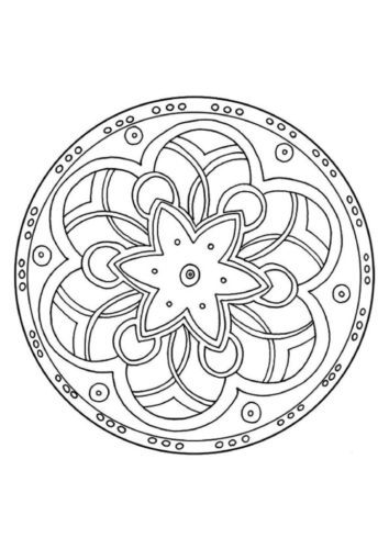 thumbnail of the-mandala-pattern-a4