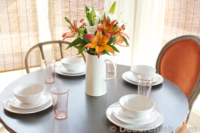 White-Dish-Table-Setting