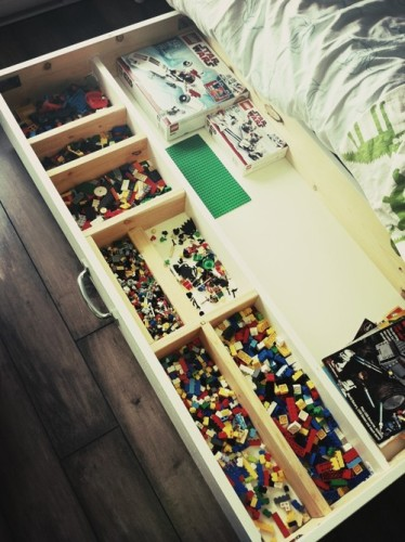 Lego Storage Wood Drawer