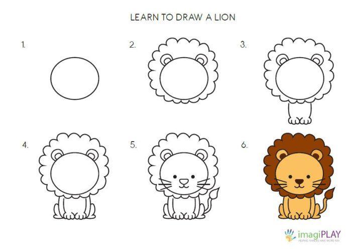 sample lion