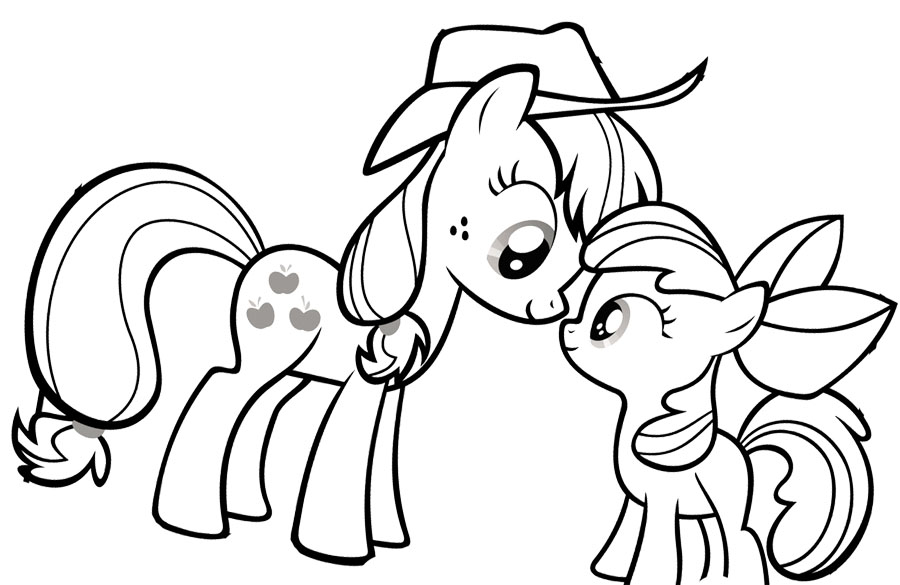 My-Little-Pony-Coloring-Pages-vb | ImagiPlay