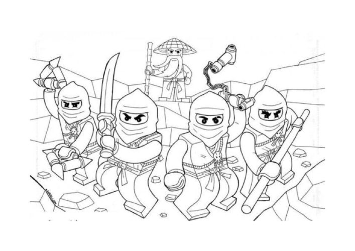 Thumbnail Of Lego Ninjago Coloring Pages