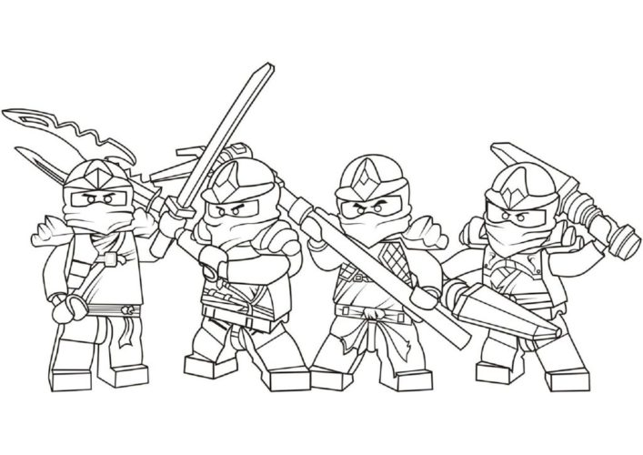 printable lego ninjago coloring pages | imagiplay - Coloring Pages Ninjago Green Ninja
