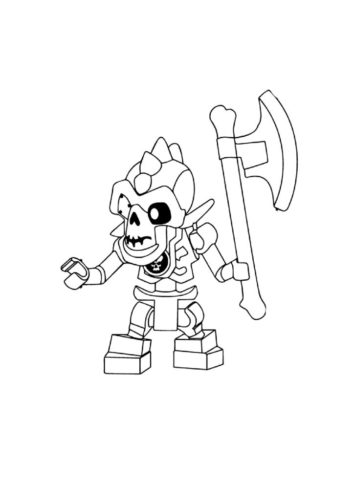 Printable Lego Ninjago Coloring Pages | ImagiPlay