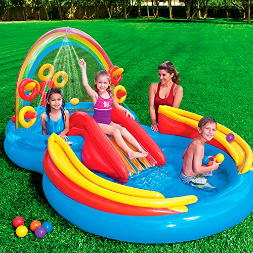 Swimming Pool For Hours Such As Water Slides Blasters And All Sorts Of Plastic Kiddie Ideas Kids In Fact You Can Even Buy A