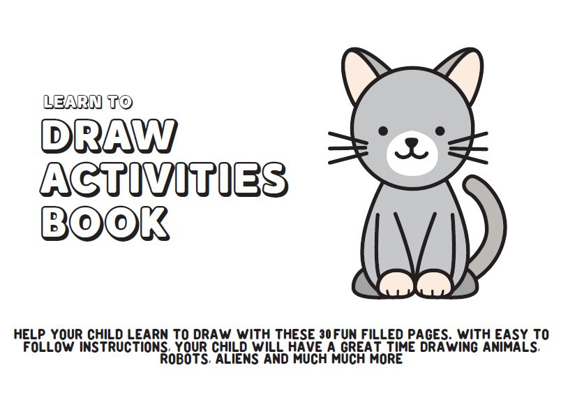Easy Drawings For Kids Step By Step Imagiplay